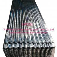 China BWG34   corrugated  roofing  sheet on sale