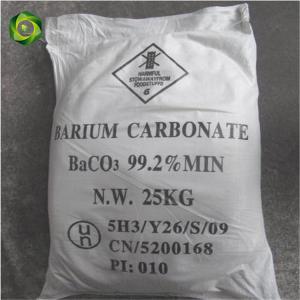 Quality Barium Carbonate 99.2% usd in ceramic, tiles, glass wholesale