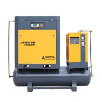 China 2020 AirHorse 7.5kw/10hp Mini Rotary Screw Air Compressor With Air Dryer And 80 Gallon Tank on sale
