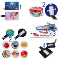 cheap factory price 4GB credit card usb flash drive 8GB 16GB 32GB plastic card shape memory USB with HD logo printing