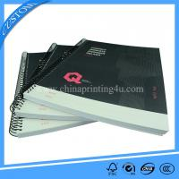 China spiral bound notebook printing cheap book printing china on sale