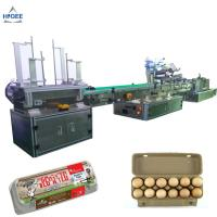 China Farm chicken eggs labeling machine with eggs expiry date printing machine ,egg box labeling machine with egg tray on sale