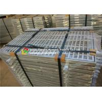 Quality Fish Tail Galvanized Steel Walkway Grating Iron Material High Strength wholesale