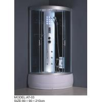 Quality 1200 x 800 shower enclosures quadrant Aluminium Rails / Profiles small shower cubicle wholesale