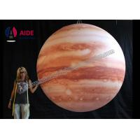 Quality LED Inflatable Advertising Balloon Giant Inflatable Planets Solar System wholesale