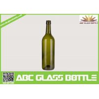 Quality 750ml wine glass bottles round shape wholesale