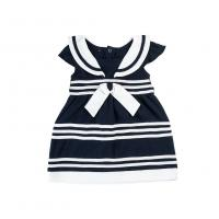 Quality baby girl summer dress new navy style kids dresses for girls princess dress wholesale