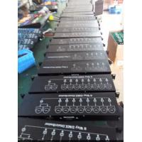 Quality 8 Way DMX512 Stage Lighting Controller Distributor Materials Iron AC90V - 240V wholesale