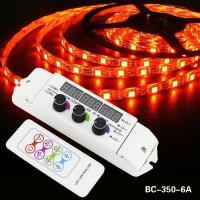 Quality with digital display totally rf remote led lighting rgb controller wholesale
