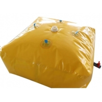 China Flexible PVC Tarpaulin Fresh Water Bladder 50 Gallon 3000L on sale