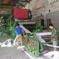 Quality Corrugated Paper Making Machine with Waste Paper Raw Material and 150-ton/Day Capacity wholesale