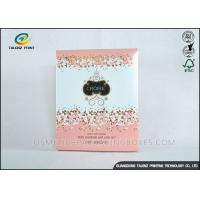 Quality Luxury Pink Cosmetic Packaging Boxes For Mask Product / Cosmetic wholesale
