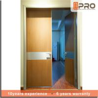 Quality Break Resistance MDF Interior Doors Eco Friendly With Handles And Hinge wholesale