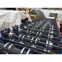 Quality 8 - 12 M / Min Double Layer Roll Forming Equipment 7.5Kw Cold Roll Forming Machine wholesale