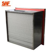Quality Aluminum Cardboard High Temperature Hepa Filters Glass Fiber Filter Material wholesale