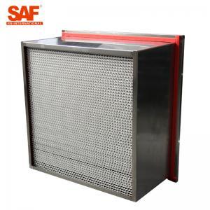 Quality Aluminum Cardboard High Temperature Hepa Filters Glass Fiber Filter Material wholesale