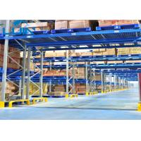 Quality Workshop Pallet Racking Systems , Bridge Type Heavy Duty Storage Shelves wholesale