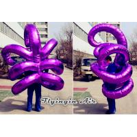 Bright Purple Inflatable Hook Costumes for Christmas and Halloween Party Supplies