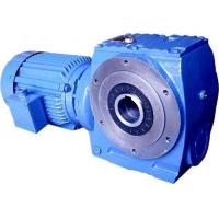 Quality S Series Worm Gear Speed Reducer , Ac Motor Gear Reducer 1.8-61rpm Speed wholesale
