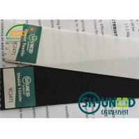 Quality 260 Gsm Stretchable Waistband Woven Interlining For Sweat Pants / Trousers wholesale