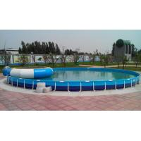 Quality Family Entertainment Metal Framed Swimming Pools Round Custom Made wholesale
