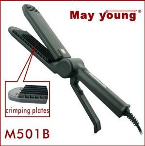 Quality Professional digital scissors design hair crimper and straightener M501B wholesale