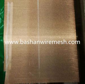 China Economic Plain Weave plain weave Copper mesh / Brass Wire Mesh for sale on sale