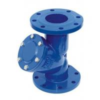 Quality 6 Inch Pressure Y Type Strainers , Cast Iron Flanged Water Y Strainer wholesale