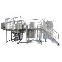 Quality Industrial Brewing Equipment 25BBL Large Scale Brewing With Steam / Gas Heating wholesale
