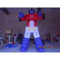 Quality Giant Portable Advertising Item InflatableTransformers Balloon Optimus Prime wholesale