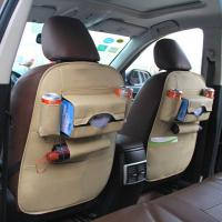 Quality Beige color used for car organizer, export to Singaport a lot, car back organizer wholesale