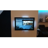 Quality Industrial Wall Mount Tablet PC 10 Inch IPS POE Power Touch Panel Integrate LED Light Indicator wholesale