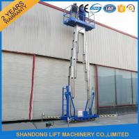 China 14m High Rise Window Cleaning Lift System , Aerial Wok Hydraulic Work Platform Lift  on sale