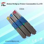 Quality Compatible for OKI C531 toner cartridge wholesale