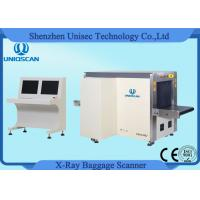 Quality Hold Baggage Security X-Ray Machines Dual View Medium Security Baggage Scanner wholesale