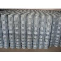 Quality High Strength Class 1 Zinc Coating Field Wire Fence With Hinge Joint 2.0mm Dia wholesale