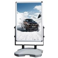 Quality Outdoor Advertising Snap Frame Stand With Water Base Aluminum Material wholesale