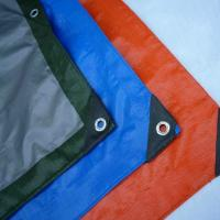 China Waterproof PE Tarpaulin Sheet / Polyethylene Sheet Roll Ground Cover on sale