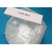 China Medical Raw Steroid Powders , LGD-4033 Ligandrol For Muscle Gaining on sale