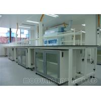 Cheap Diverse Laboratories Modular Laboratory Benches And Cabinets , Steel and Wood for sale