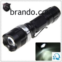 China Latest Rechargeable Cree LED Flashlight/ABS LED Torch led searchlight led explosion proof light rechargeable torchlight on sale