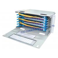 Quality Optical Distribution Frame Full Loaded SC or FC Pigtails And Adapters / Fiber Patch Panel wholesale