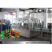 Quality Carbonated Drink Production Line PET Bottle Filling Easy Operation SS304 wholesale