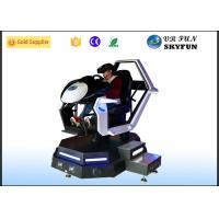 Quality Racing Car Game Virtual Reality Motion Simulator With Steering Wheel wholesale