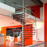 China stainless steel glass staircase PEDEL manufacturers direct export can be customized on sale