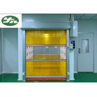Quality Speed Shutter Rolling Door Air Shower Tunnel Powder Coating Painting For Cargo wholesale