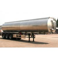 China Large Fuel Delivery Truck Palm Oil Tank Transport Trailer 45,000 Liters 35 Ton on sale