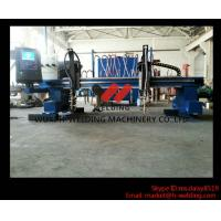 Quality Metal Steel / Aluminum CNC Carbon Steel Cutting Machine 5m Rail Span And 15 Rail Length wholesale