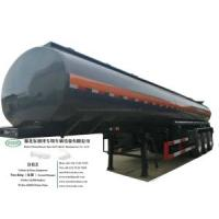 4 Compartments Hydrochloric Acid Tanker (3 Axles 19m3-30m3-5000USG-8000USD-Steel Lined LLDPE Tank For Transport HCl,NaOH , NaCLO,PAC,H2SO4 ,HF,H3PO4 Chemical)