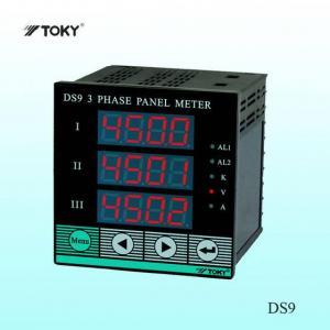 China DS9 3 Phase Digital Voltage Meter/ Ampere Meter on sale